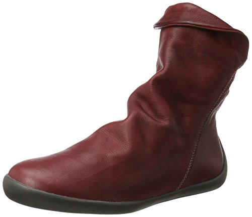 Softinos Nat332sof Washed, Bottes Classiques femme Rot (Scarlet)