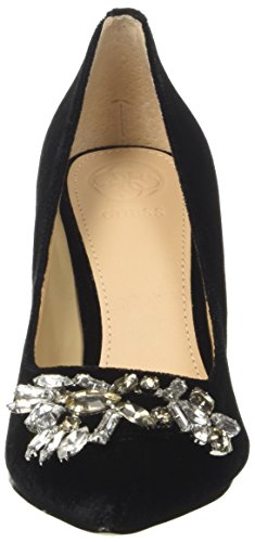 Guess Damen Eland Pumps Schwarz (Nero)