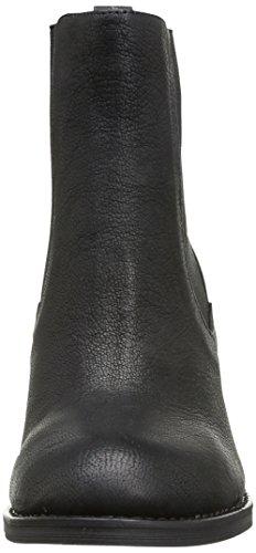 Buffalo London 412-0964-2 Arno Damen Chelsea Boots Schwarz (nero 01)