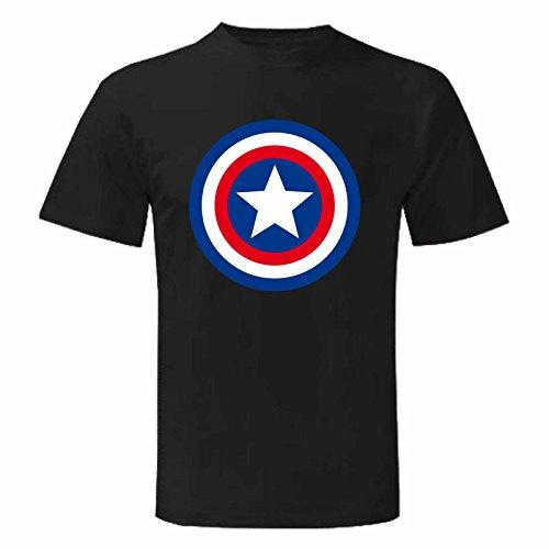 Art T-shirt Herren T-Shirt Schwarz