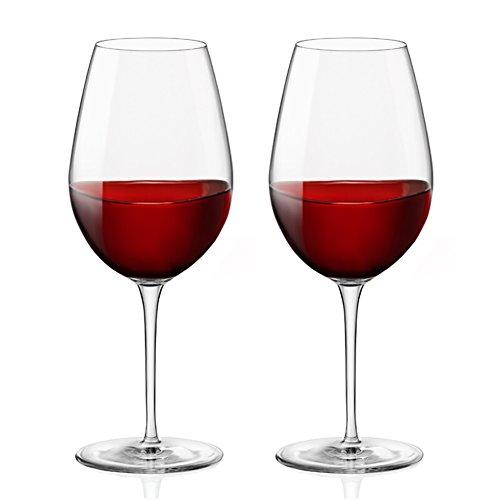 2pcs Tritan Weingläser, Shsyue Unzerbrechlich Trinkglaser Rotweingläser für Party, Hochzeiten,...