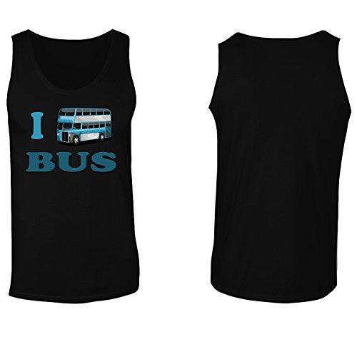 Amo Autista Di Autobus Divertente Città D'Arte D'Epoca canotta da uomo yy65mt Black