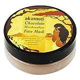 Akamuti - Maschera Viso al Cioccolato e Vaniglia Idratante e Purificante Pelli Normali e Grasse - 20 gr