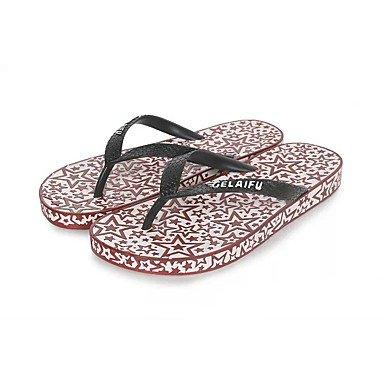 Winterstiefel FrauenPU -beiläufige Keilabsatz Sandalen Feder Sandalen US8 / EU40 / UK7 / CN41