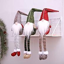 Muñecas de la Navidad de Las piernas largas, Muñecas sin Cara para la decoración de