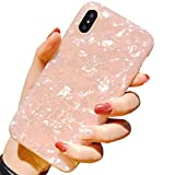 Bakicey Coque iPhone XS, Coque iPhone X Paillette Sparkle Silicone Ultra Fine Bumper...