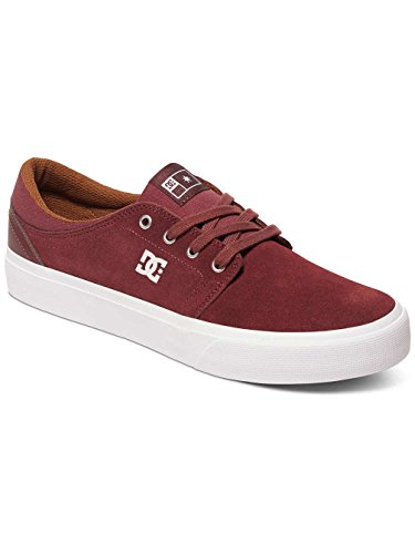 DC Shoes Trase S - Chaussures de skate pour Homme ADYS300206 Rouge - Ox Blood