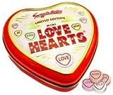 Love Heart Tin containing Mini Love Hearts