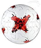 A C Sports FIFA 2017 Hand Stitched Super Synthetic Training Football (White)