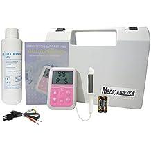 Appareil d'électrostimulation pour le traitement de l'incontinence et de l'hypertrophie de la prostate chez les hommes. Dysfonction érectile - avec sonde anale et gel de contact