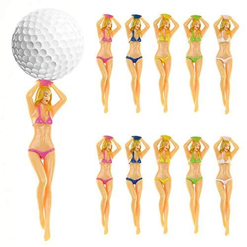 Bikini Golf Tees Cartoon-Golf-Bolzen-Ball-Bolzen-Bikini-Bolzen
