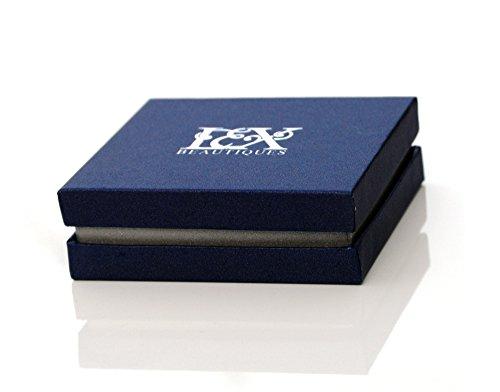 INFINITY Otto Figi Bracciale oro bianco oro rosa scatola catena scorrevole con cristalli Swarovski UK Gift Box