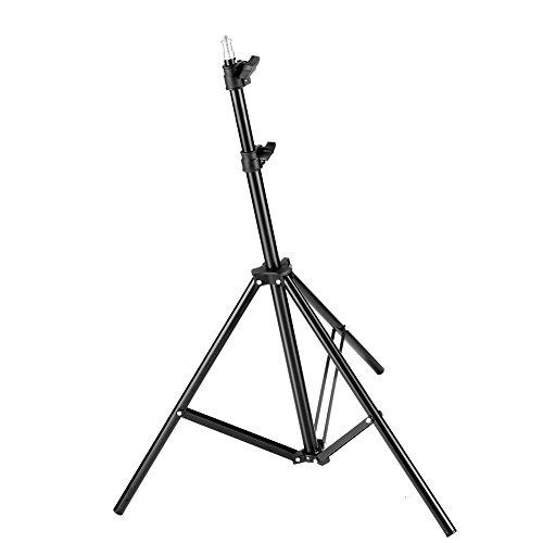 Neewer® Kit de 3 Soportes Trípode de Aluminio de Luz para Estudio de Foto/Vídeo  Luz  Softbox – 9 pulgadas(260cm)