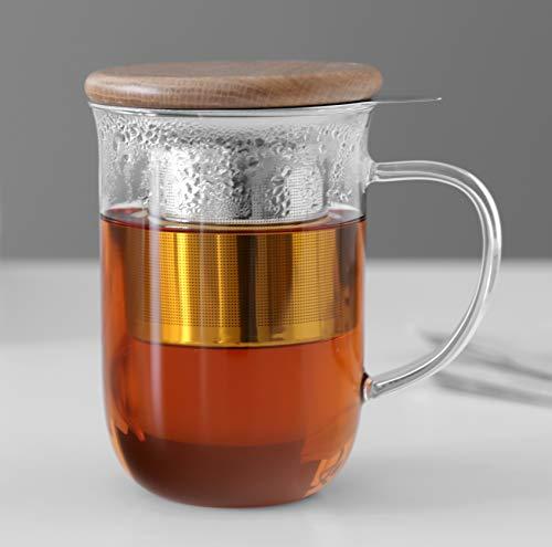 VIVA scandinavia-Balance Tee Cup mit-Ei, Transparent