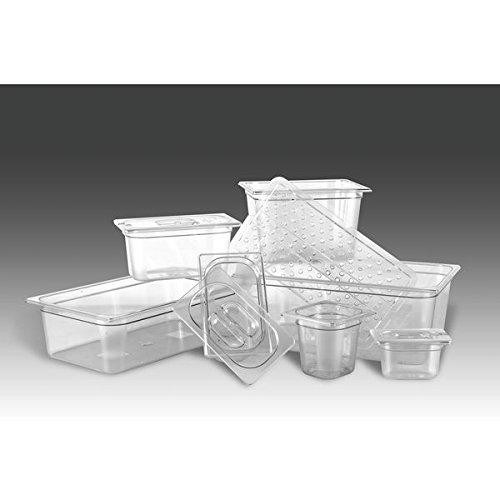 PUJADAS GN-Behälter1/6 Polypropylen, Tiefe: 100 mm, Inhalt: 1,40 Liter