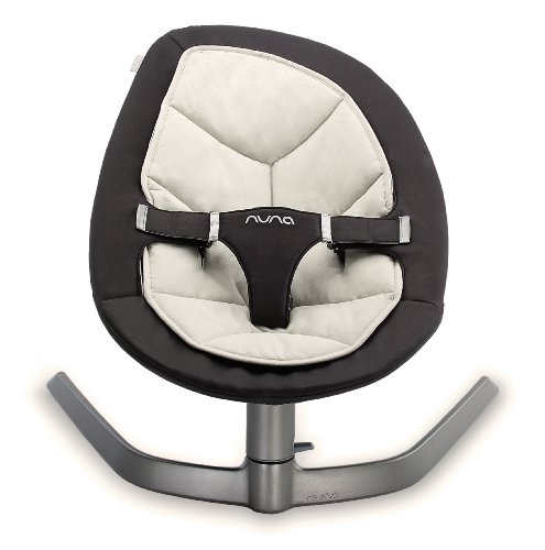Nuna Leaf hamaca bebe bebe gris y negro