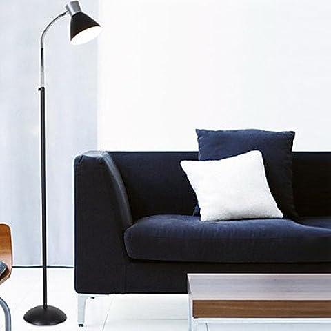 FDH 60W pavimentazione moderna luce con palo metallico in stile minimalista(colore selezionabile) , (277 Di Cristallo)