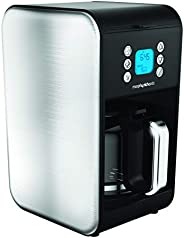 Morphy Richards Accents Pour Over Filter Coffee Maker, Silver, 1.8L, 162010