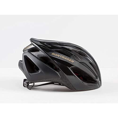 Bontrager Starvos Rennrad Fahrrad Helm schwarz 2020: Größe: XL (60-66cm)