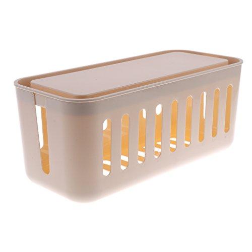 Dolity Box Case Wasserdicht Aufbewahrungsbox für elektronische Komponente - Gelb Elektronische Komponente Box