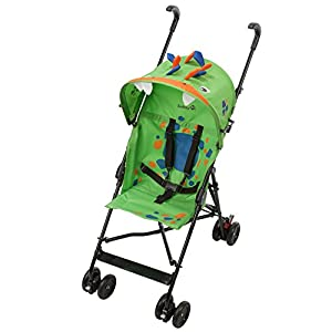 Safety 1st Buggy Crazy Peps Spike Green Pram Stroller Baby Cart 1187540000 Cosatto Change the look of your Giggle Mix Pram to suit your mood, family and adventures - just pop on a new colour pack Adventure ready whatever the weather, with UPF100+ protection sunshade hood, raincover, pram apron and fleece-lined padded pushchair apron Each hood lining is different; stimulate your baby's growing imagination with the storytelling patterns 3