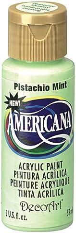 DecoArt Americana Acrylic Multi-Purpose Paint, Pistachio