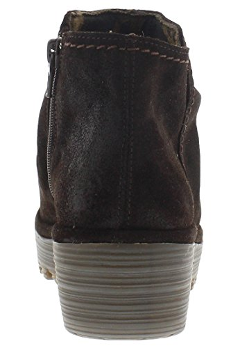 FLY London Riaz691fly, Bottes Classiques Femme dunkelbraun
