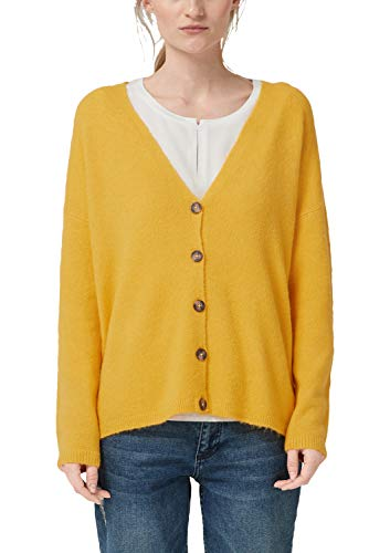 amen Strickjacke mit Wolle Yellow S ()