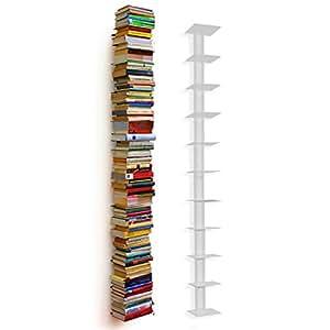 Haseform Bibliothèque colonne XL blanc 180 cm