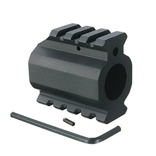 Profil unten Picatinny Schienen-Block Gas Canon 19mm Montage