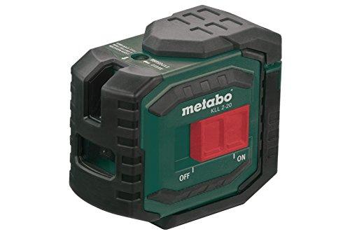 Metabo 606166000 Kreuzlinienlaser KLL 2-20, 1.5 V, Grün, Rot