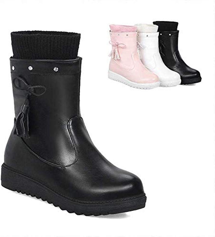de en chaudes Bottes pour femmes chaudes d'hiver coton bottes 7ImgvYbyf6