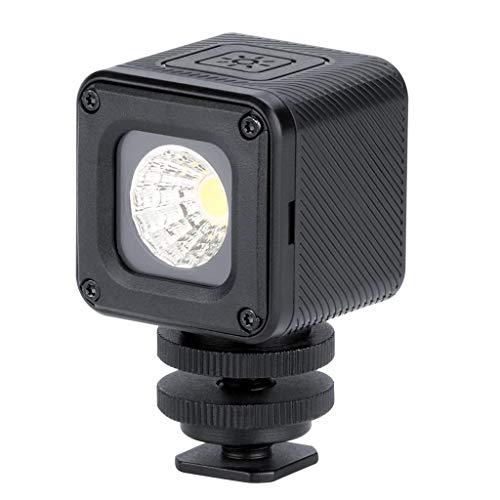 friendGG LED-Videoleuchte IP68 Professionelle wasserdichte dimmbare Fotobeleuchtung Multifunktionale wasserdichte Fotofüllleuchte Leicht zu lagern -