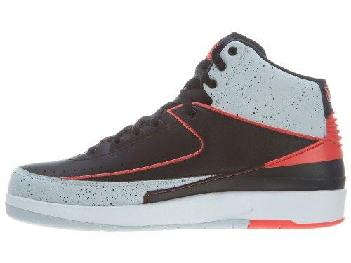 Nike baskets air jordan retro 2 chaussures de basketball-top sport high Noir - Noir