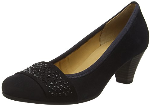 Gabor Shoes Gabor Basic, Scarpe con Tacco Donna Blu (pazifik +Steine)