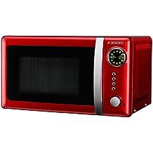 Jocel JMO001344 - Microondas rojo, 700 W, color rojo