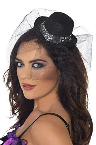 Smiffys 38138 - Sombrero para disfraz de adulto unisex a partir de 18 años