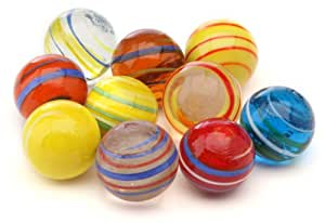 Kim'Play Equinoxe 9020 Large Marbles (Set of 10)