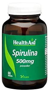 HealthAid Spirulina 500 mg - 60 Tablets