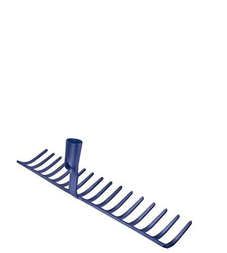 Idealspaten WEG10842 Râteau à Cailloux Sieger, Bleu, 51 cm
