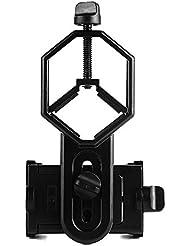 Onebird Monture Support de Téléphone Portable - Travailler avec jumelle monoculaire télescope et Microscope - pour Smartphone