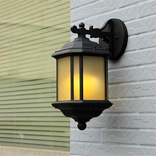 Led Lumières Edison Lumières Moderne Simple Applique Murale Extérieure Imperméable En Verre Abat-Jour Jardin Applique Murale Extérieure Led