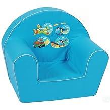 knorr-baby 490185 - Sofá para niños, color azul
