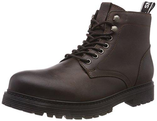 Hilfiger Denim Herren Tommy Jeans Outdoor LACE UP Combat Boots, Braun (Coffee 211), 43 EU
