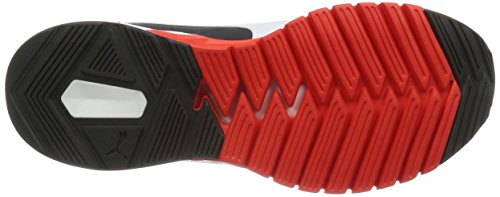 Puma IGNITE Dual, Chaussures de Running Compétition homme Rouge (Red/Asphalt 01)