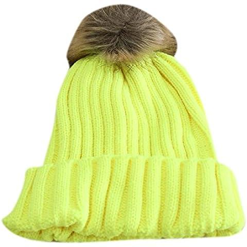 Molly Donna Caldo Lavorato A Maglia Crochet Cappello