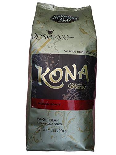 Hawaiian Gold Kona Coffee - 2 Lb Bag by Hawaiian Gold