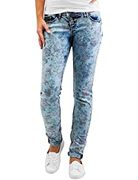 Authentic Style Femme Jeans / Slim Amy Flower