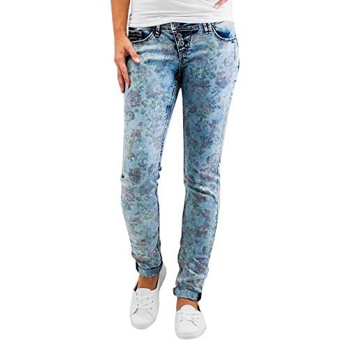 Authentic Style Donna Jeans / Jeans slim fit Amy Flower