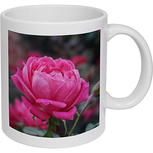 Azeeda 320ml 'Pinke Rose' Kaffeetasse / Becher (MG00002631)